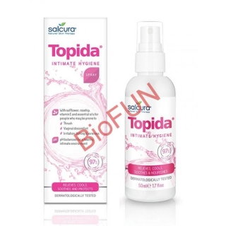 Topida - Spray tratament pt igiena intima, infectii fungice, reglare PH